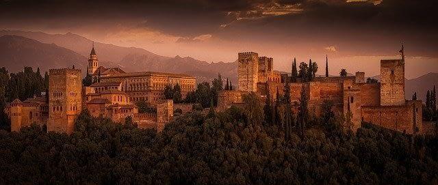 Panoramica Alhambra di Granada