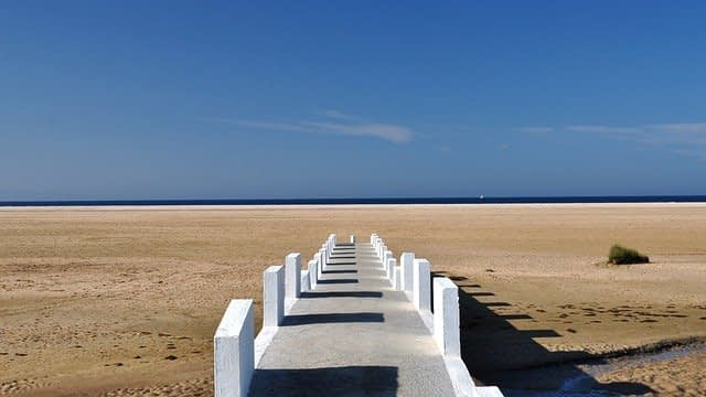 Spiaggia di Tarifa in Spagna