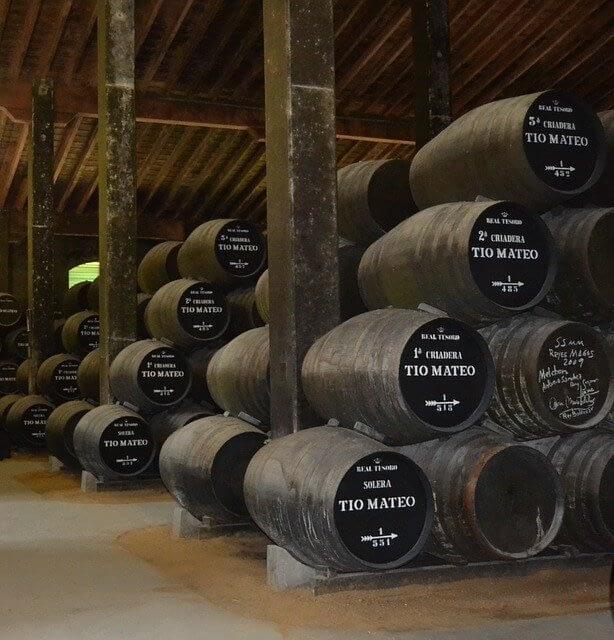 Bodega di Sherry a Jerez